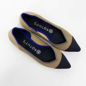 Rothy's : Dune Captoe Point Ballet Flats Rare 7.5